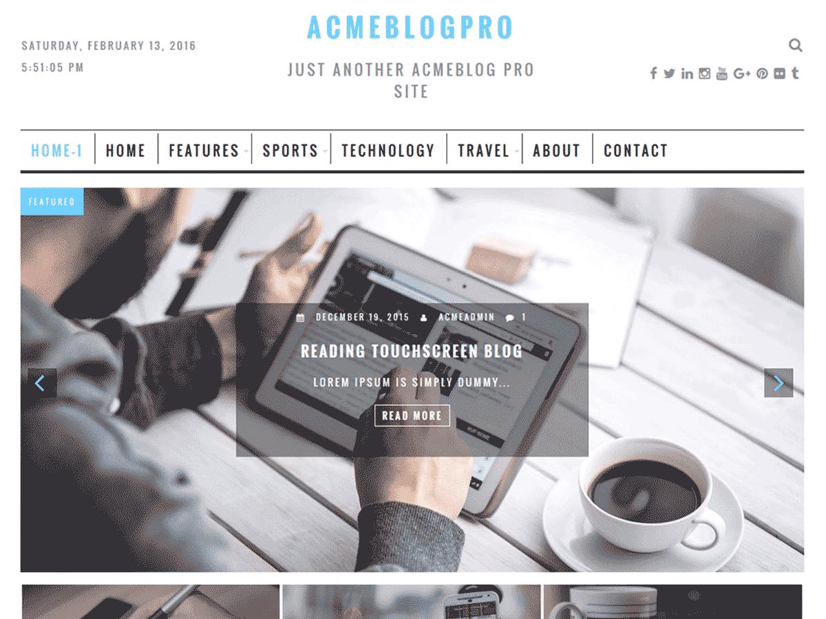 AcmeBlogPro